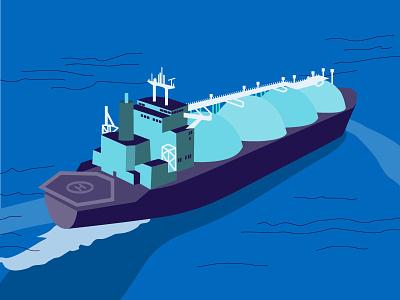 Petroleum Tanker tanker boat illustrator