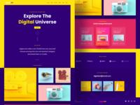Digital Art Landing Page