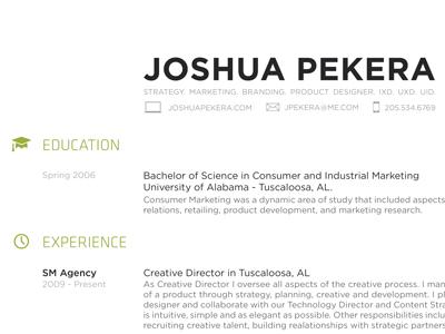 Print Resume