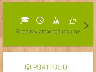 Mobile Resume and CV Site