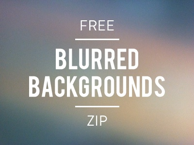 Free Blurred Backgrounds, ZIP blurry blur background free zip iphone freebie