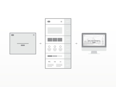 My first article in the works hundred10 greyscale guide design illustration icons writing article