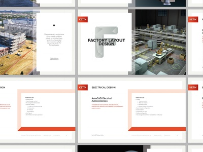 KETIV Training Brochure IP fresno hundred10 autocad print graphic design polygons 3d design brochure