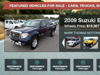 Vehicle Search Carousel