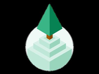 Advanced level tree type thing level tree isometric
