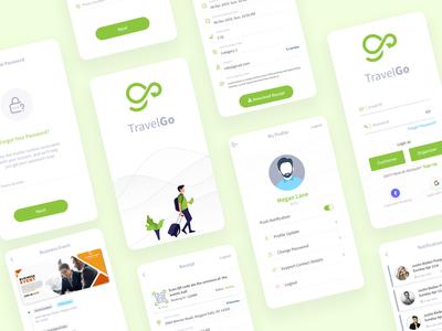 Travel App UI Design events design app ux ui design traveling