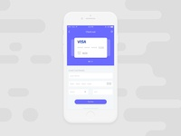 Credit Card Check Out UI #002