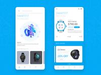 SmartFit Watch Shop App