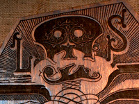 Zombie Coffin Engraving