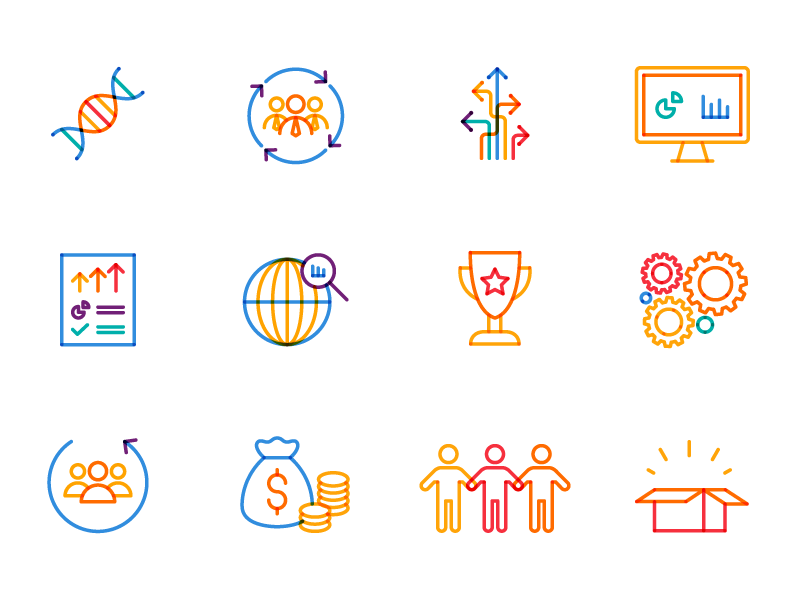 Icon Pack | TIBCO Spotfire® by Mercedes Alonso on Dribbble