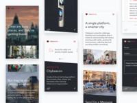 Mobile microsite | Citybeacon