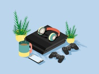 Playstation & Cuppa