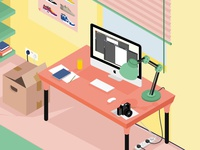 A Day in a Designers Room