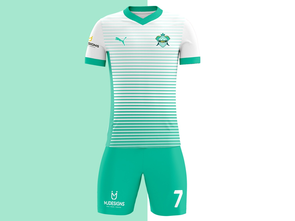 ae6d2fd42ff New Jersey Design for Bangalore Blasters FC ⚽ football logo mjdesigns  football club football kit