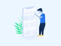 Sign Up Page Illustration