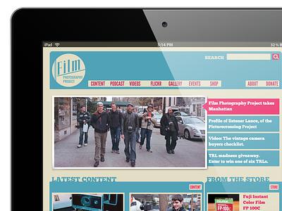 Film Photography Project — Alternative Design website web design ui ux retro design web e-commerce online store podcast