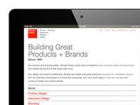calleia.com portfolio site relaunch