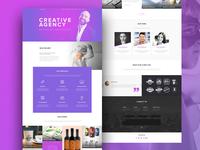 Multi-purpose Agency Website 2