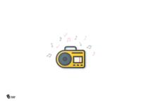Radio Color Icon
