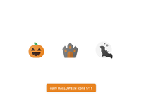 Daily Halloween Icons 1/11