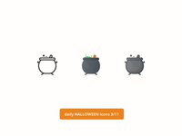 Daily Halloween Icons 3/11