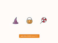 Daily Halloween Icons 7/11