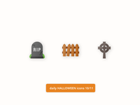 Daily Halloween Icons 10/11