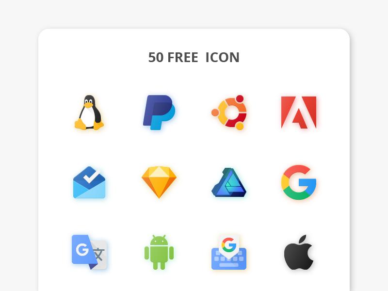 Free logo flat paper 01