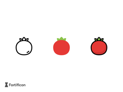 Challenge - 3 Icons a day - Tomato Icon