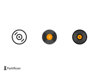 Challenge - 3 Icons a day - Vinyl Record