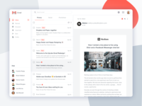 Gmail Dribbble