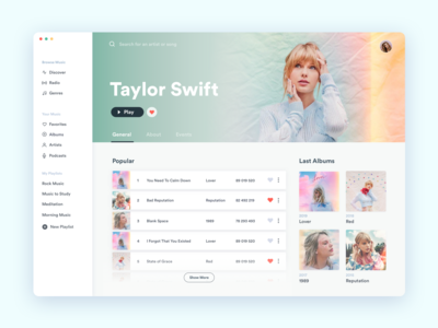 Desktop Music Player