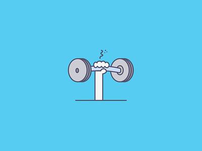Achieve Your Goals motus goals weight plates weight barbell