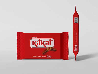 Kitkat wrapper redesign