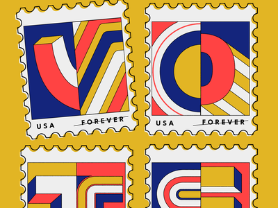 Vote! graphic design vintage lettering typography design typographic design illustration art typography go vote vote illustration