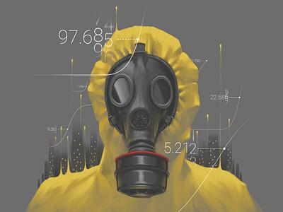 Pandemic coronavirus virus pandemic design painting digital art art artwork illustration digital painting