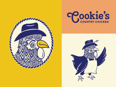 Cookies Country Chicken branding