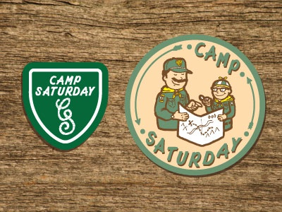 Camp Saturday Patches