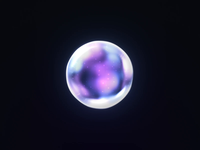 Organic AI Visual blob ethereal visual colorfull colors form sphere 60fps motiondesign particles design motion animation aftereffects