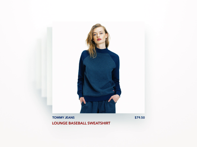 3D swipe transitions clothes girls tommyhilfiger white transition 3d swipe design animation ui motion aftereffects