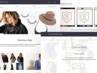 Fashion App UI
