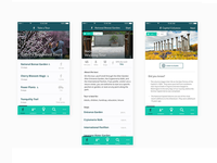 Living museum mobile UI/UX
