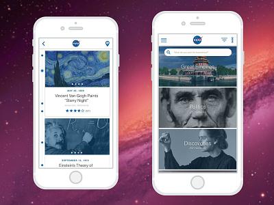 History Travel Timeline Mobile App history timeline mobile ui ux