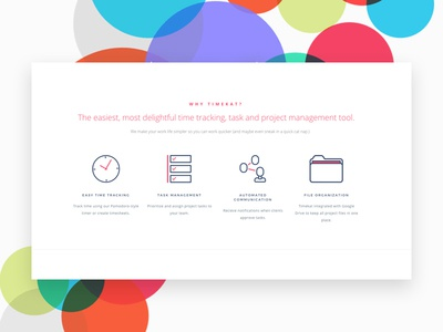 TimeKat Time Tracking App for Creatives organization management project time marketing