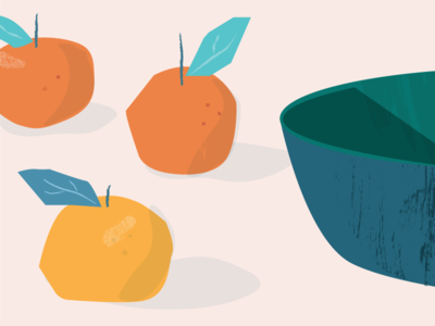 Orange Still-life