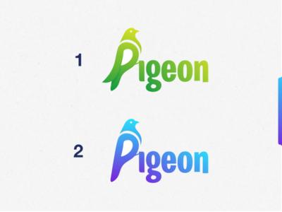pigeon logo idea