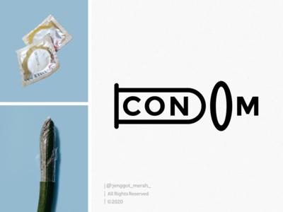 condom logo design awesome inspirations wordmark lettermark ideas flat design identity design artist art direction condom artwork idea art branding brand identity inspiration identity brand inspirations awesome design logo