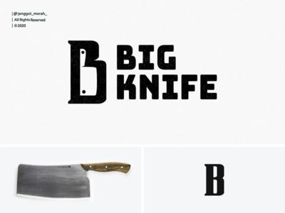 BigKnife logo Design Inspirations letter b knife logo knifes negative space identity design knife icon big illustration idea branding brand identity brandidentity inspiration identity brand inspirations awesome design logo