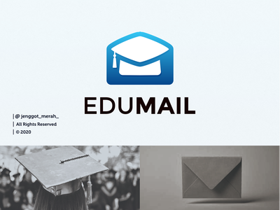 Edumail logo design mailing mailbox mailer mail education logo education app educational education artwork art branding brand identity brandidentity inspiration identity brand inspirations awesome design logo