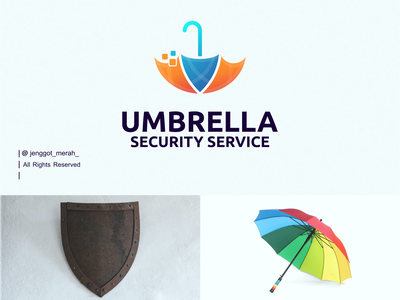 umbrella security logo design technology service security umbrella logo inspirations inspiration identity education logo education app educational education design branding brand identity brandidentity brand awesome artwork art